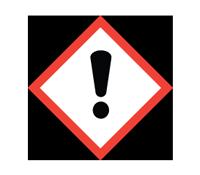COSHH symbol - Caution