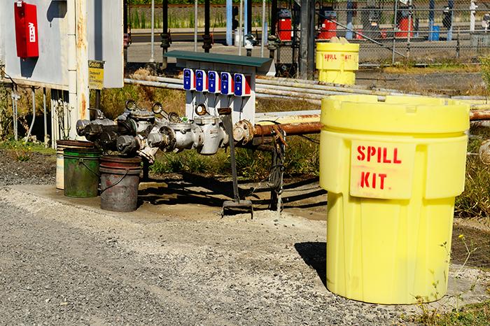 Spill hazard kit