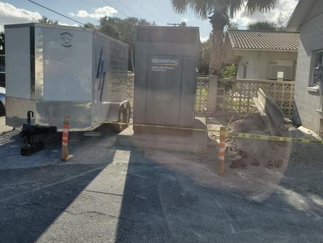 Sandalwood 200 kW natural gas backup generator
