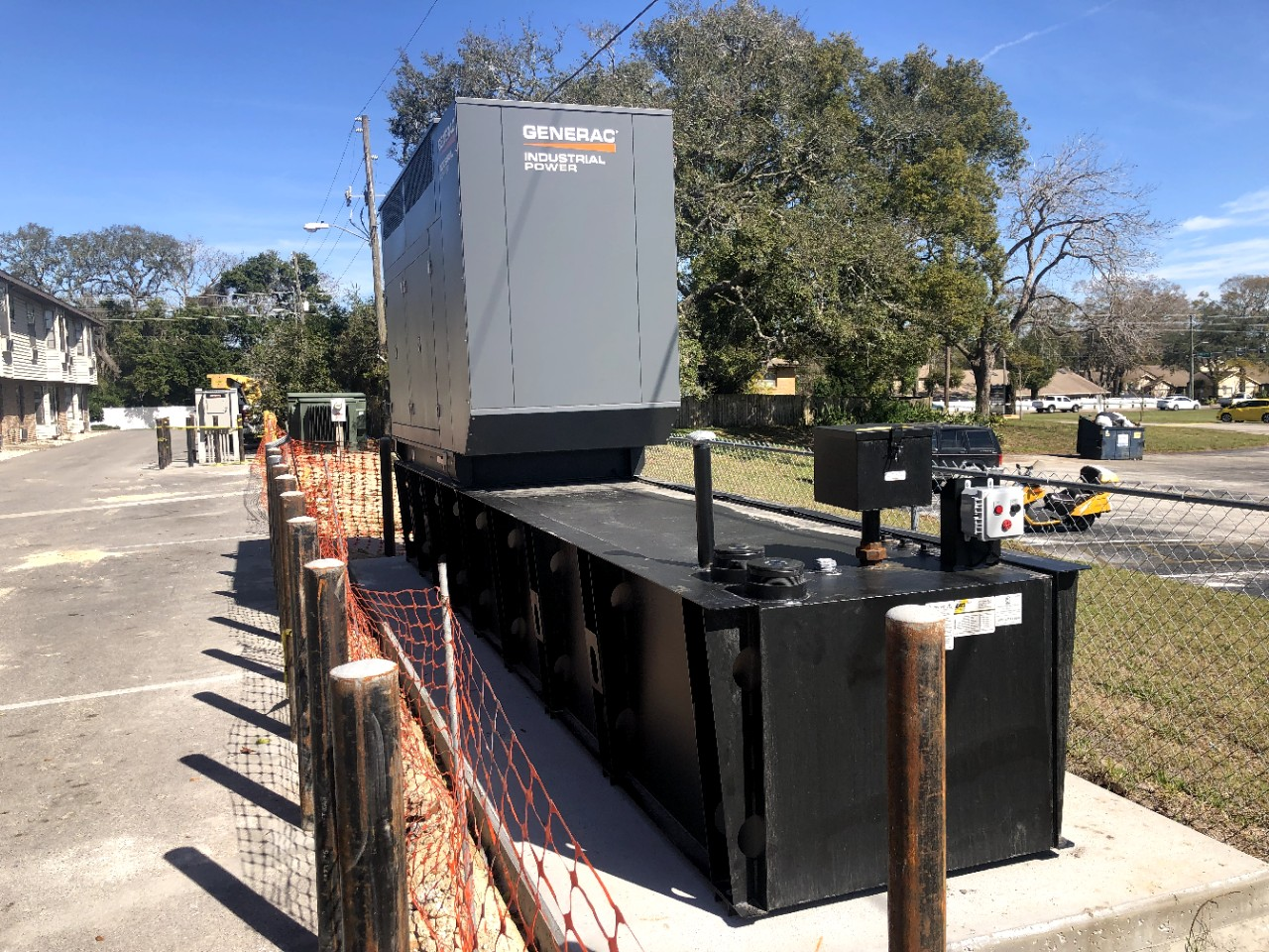 Echo ED completed another generator project. New Port Richey 200 kW generator