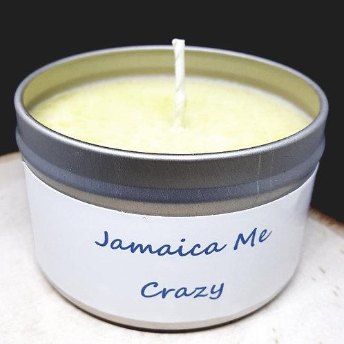 4oz Jamaica Me Crazy Tin Can Candle