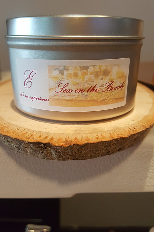 8oz Sex On The Beach Tin Can Candle