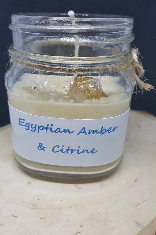 Egyptian Amber & Citrine