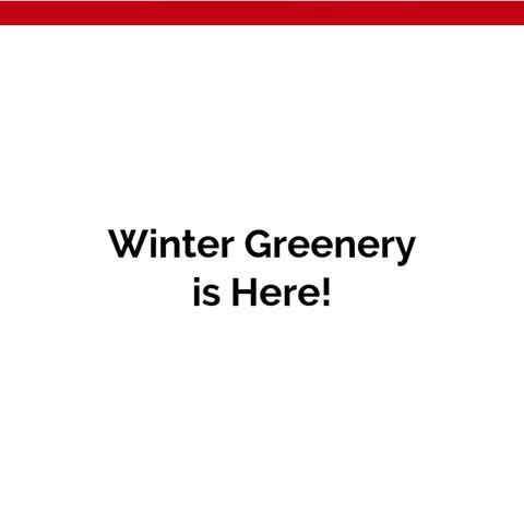Winter Greenery Fundraiser!