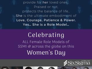 "SSMI Celebrates ""International Women's Day"""