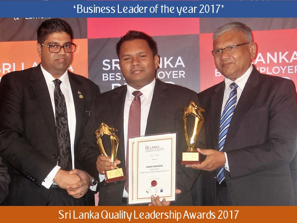 Dumidu Ranaweera Business Leader of the year 2017