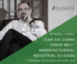 The most recognised accredited lean six sigma green belt