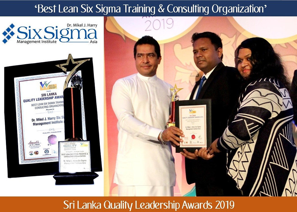 Best Lean Six Sigma Training & Consulting Organization in Sri Lanka