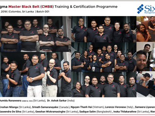 SSMI Asia pioneers Sri Lanka's first-ever Lean Six Sigma Master Black Belt programme (CMBB) and