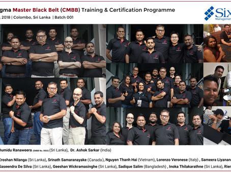 SSMI Asia pioneers Sri Lanka's first-ever Lean Six Sigma Master Black Belt programme (CMBB) and