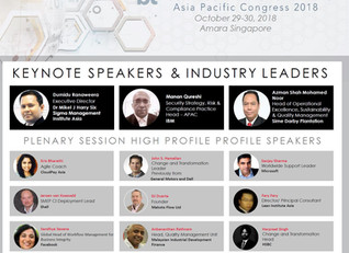 SSMI Asia is featured at the Operational Excellence and Business Transformation Asia Pacific Congres