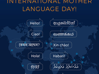"SSMI Global Family celebrates ""International Mother Language Day!""..."