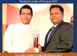 SSMI Global Director Dumidu Ranaweera awarded 'Business Leader of the Year award' once again at Sri