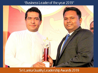 SSMI Global Director Dumidu Ranaweera awarded 'Business Leader of the Year award' once again at Sri