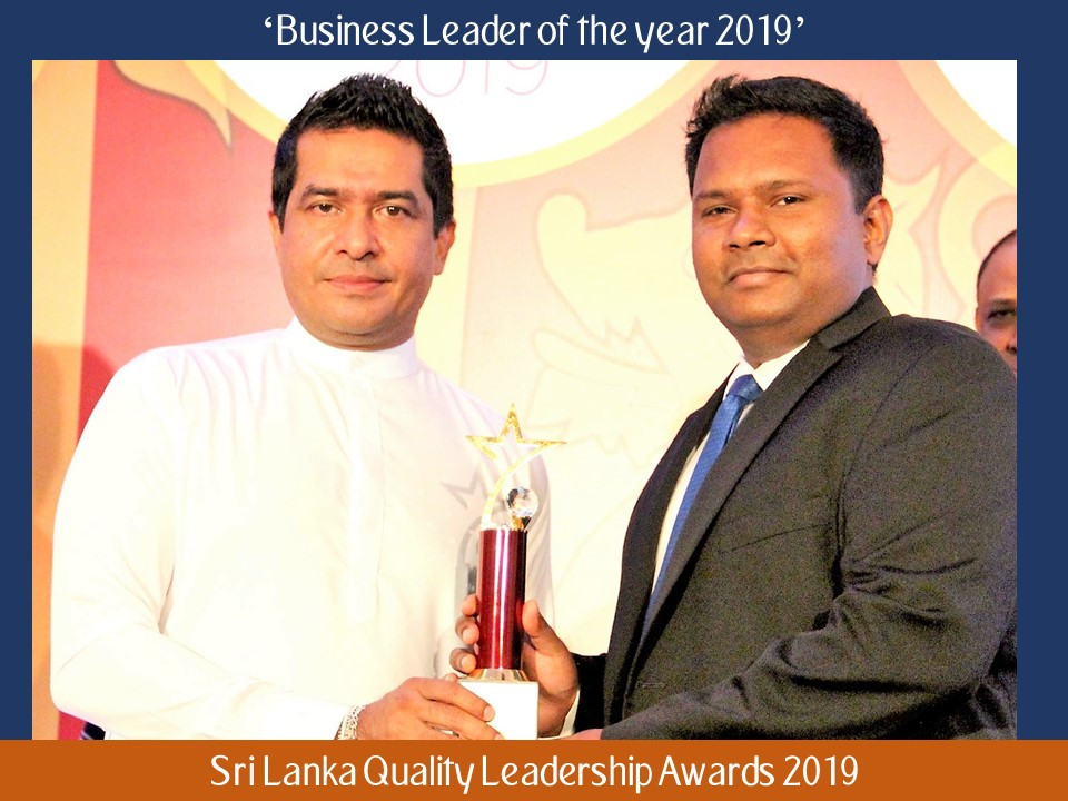 Dumidu Ranaweera, Business Leader of the Year 2019