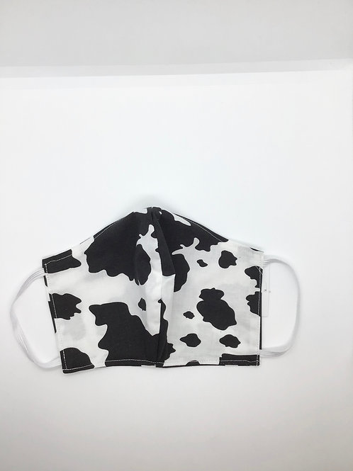 Cow Print Cotton Mask