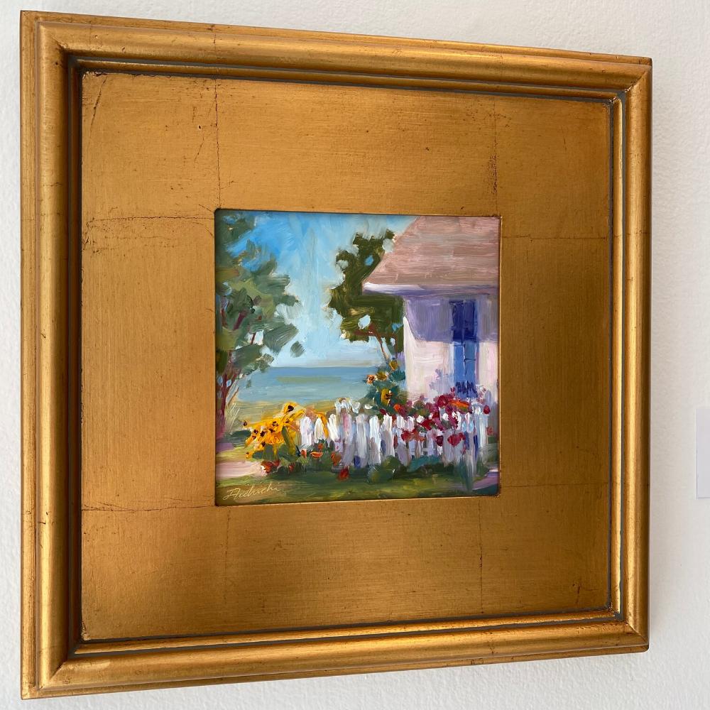 Edgartown oil painting