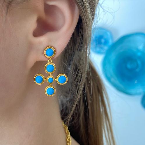 Pacific Blue Earrings