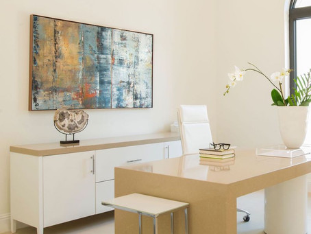 Curated Interiors in Fine Art Exhibition