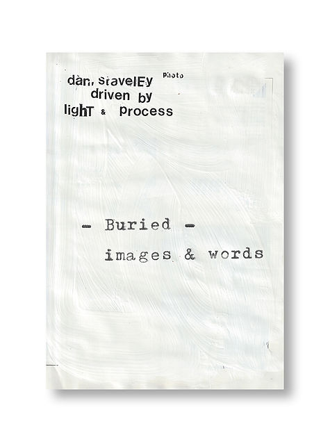 burried - Photobook by Dan Staveley