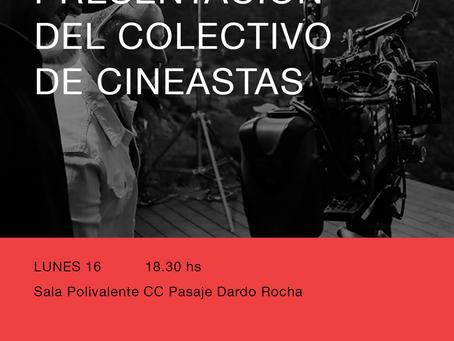 Presentación del Colectivo de Cineastas en el Festifreak