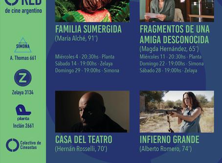 RED de cine argentino - Septiembre