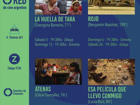 RED de cine argentino - Octubre 2019