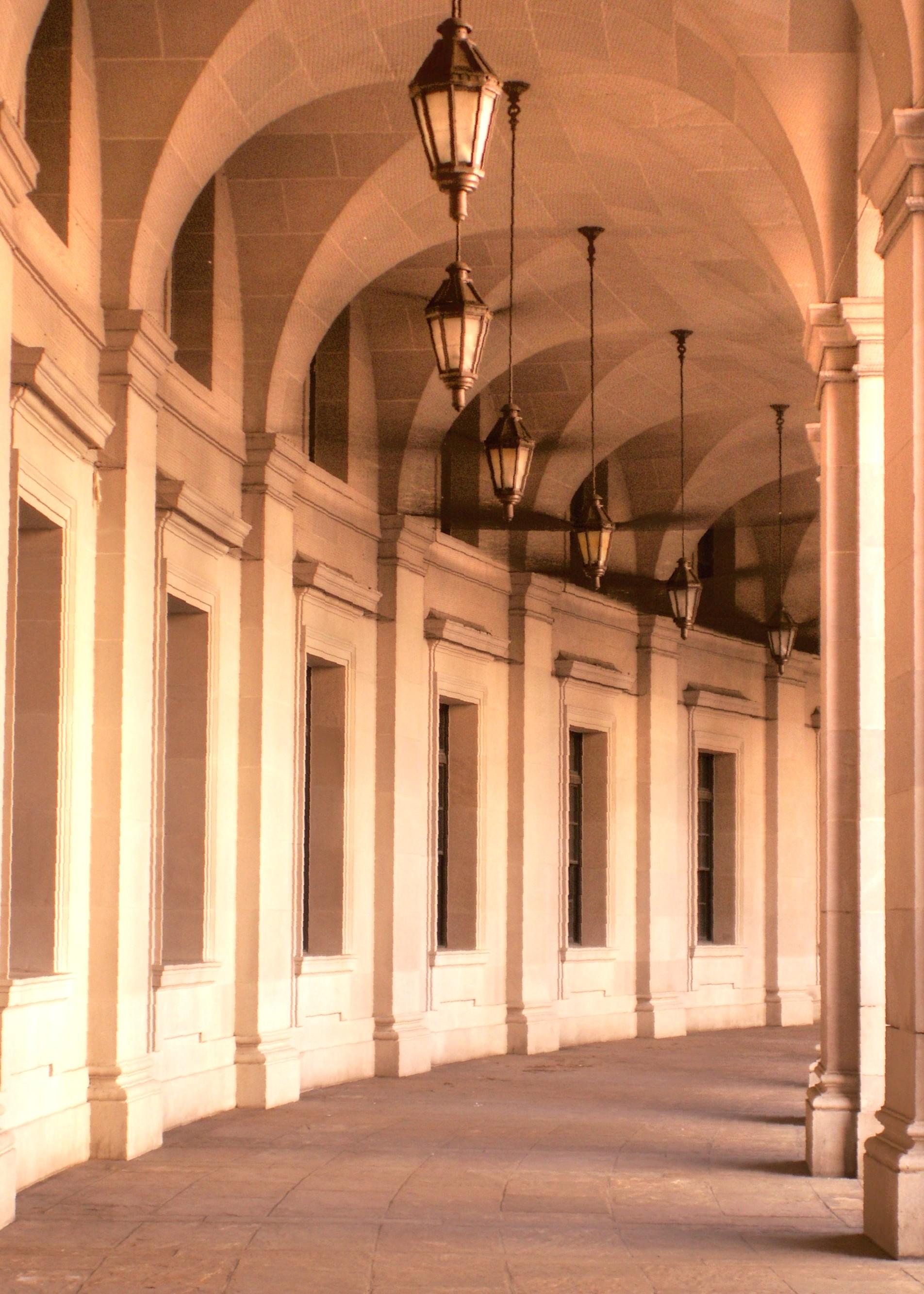 Columned Walk