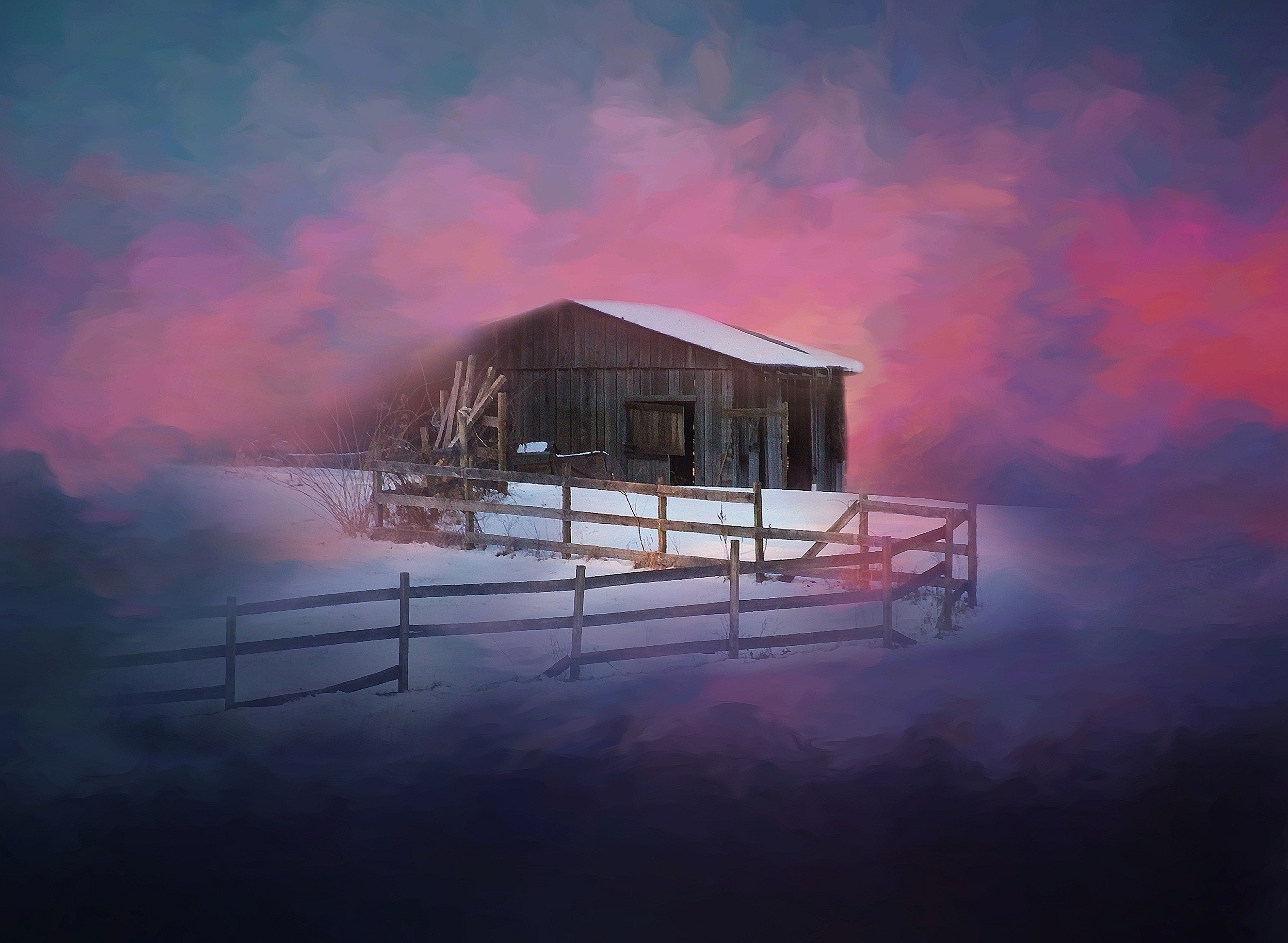 Winter Shed