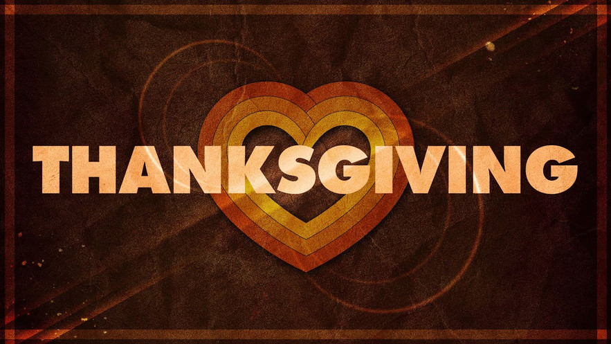Thanksgiving Service 2020