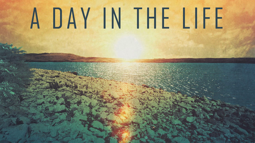 A Day in the Life Week 3