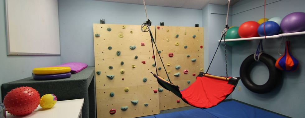 The Climbing Wall Room