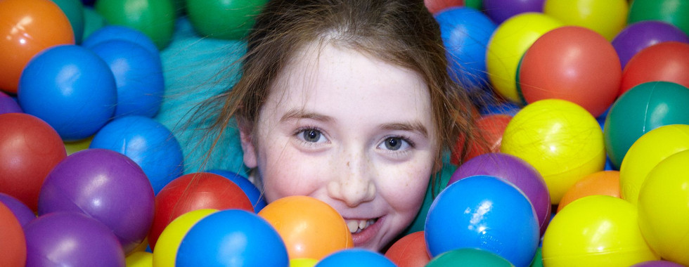 The joy of the ball pit