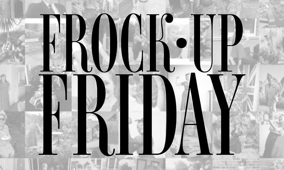 Pre-Order Frock Up Friday: the Book