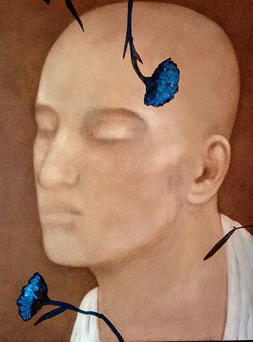Chandra Bhattacharya Untitled Acrylic on Canvas