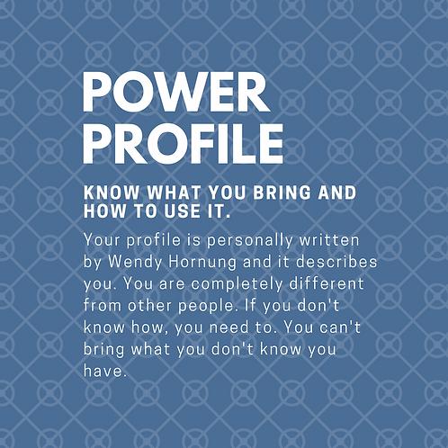 Power Profile