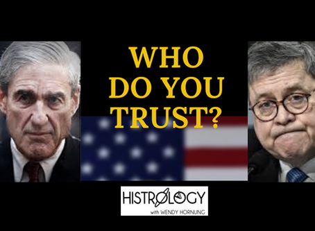 The Astrological story - Robert Mueller and William Barr & America, Who Do You Trust?