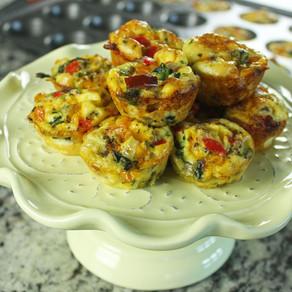 Loaded Mini Egg Muffins