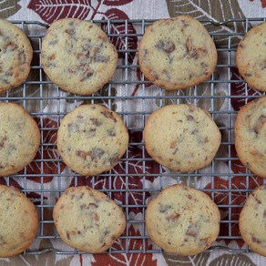 Buttery Toffee Cookies