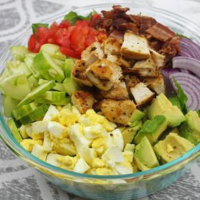 Chicken Bacon Avocado Salad