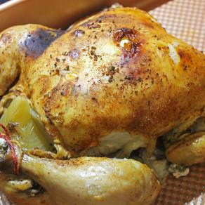 Crockpot Whole Roasted Chicken
