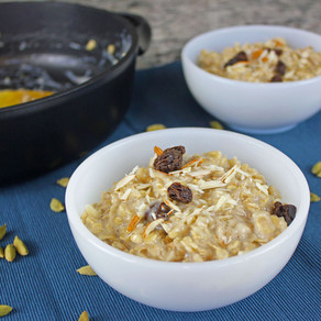 Indian-Spiced Oatmeal