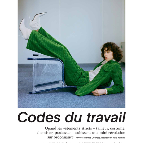 MARIE CLAIRE FRANCE X CONFLICT OF EGO