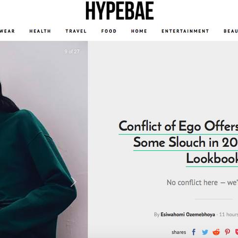 HYPEBAE  CONFLICT OF EGO