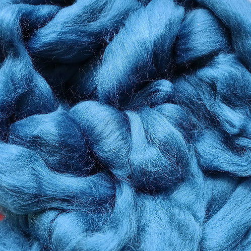"""Merino solid dyed top - """"Teal"""""""