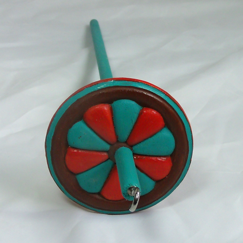 Southwest Pinwheel Medium Drop Spindle