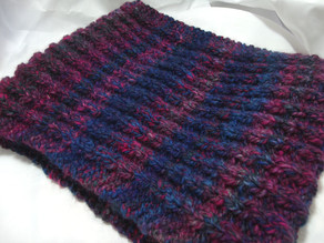 Free Pattern: Truly, Madly, Deeply Cowl (knit)