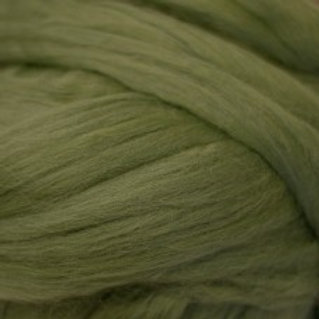 "Merino solid dyed top - ""Garden Ivy"""
