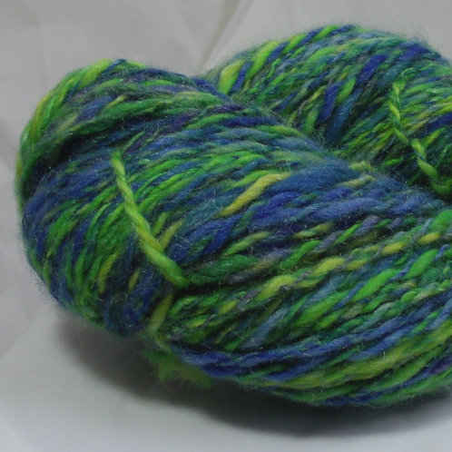 Merino wool and silk blend, handspun yarn