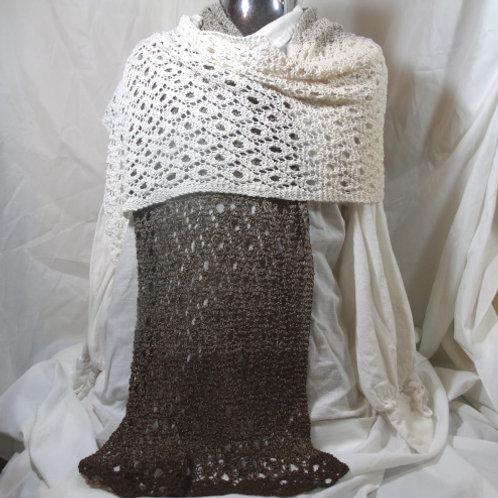 Cotton Lace Ombre wrap